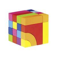 Goki 58660 Farebná kocka 2 v 1 3