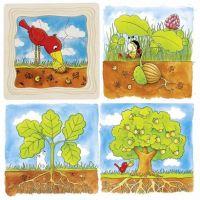 Goki Viacvrstvové puzzle Vývoj stromu