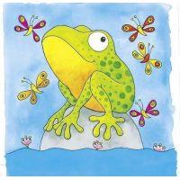 Goki Žaba vývojové vrstvené puzzle 5