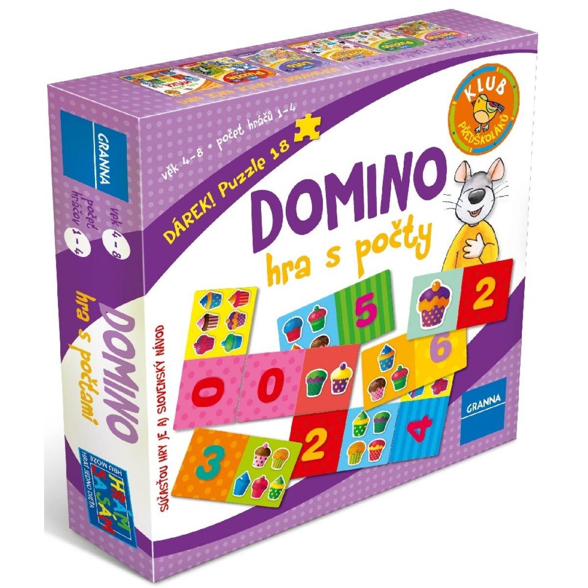 Granna Domino: Hra s počty