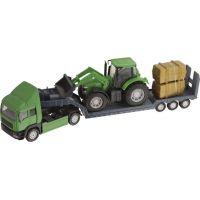 Halsall Přeprava traktorů Tahač zelený