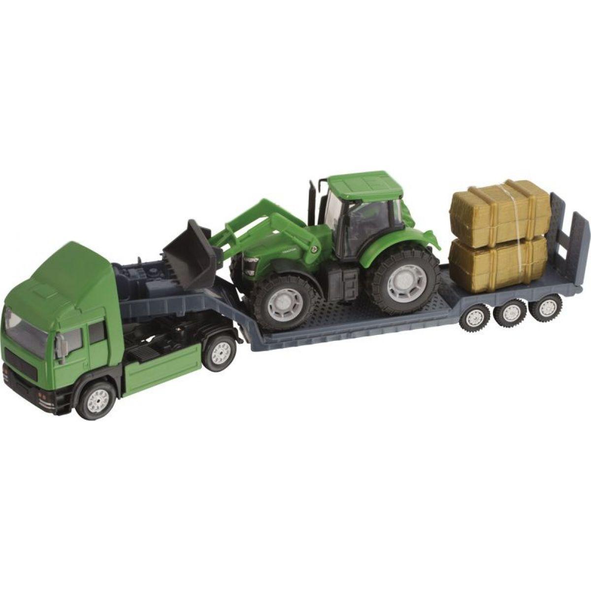 Halsall Preprava traktorov Ťahač zelený