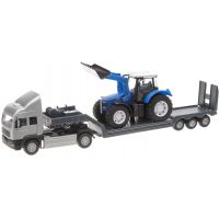 Halsall Přeprava traktorů Tahač stříbrný