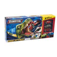 Halsall Teamsterz dráha dinosaurus s 3 autíčkami 2