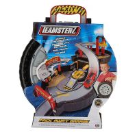 Halsall Teamsterz garáž v pneumatike s autíčkom 5