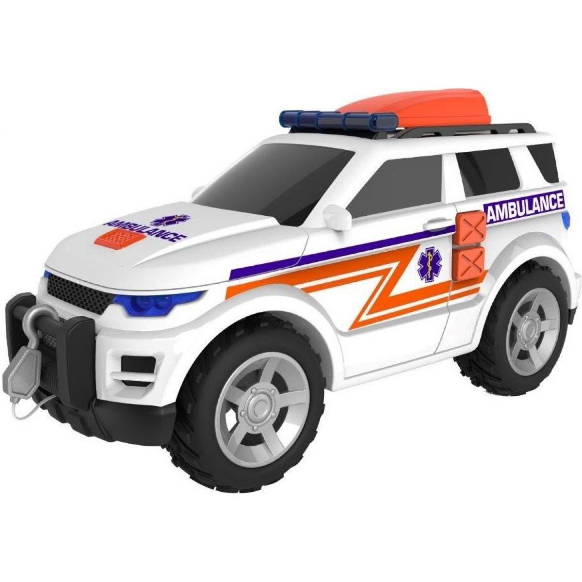 Halsall Teamsterz záchranný jeep se zvukem a světlem