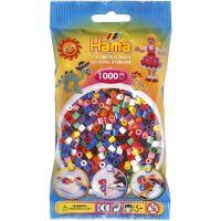 Hama H207-00 Zažehlovací korálky Midi v sáčku 1000 ks