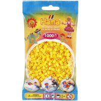 Hama H207-03 Zažehlovací korálky Midi žluté 1000 ks