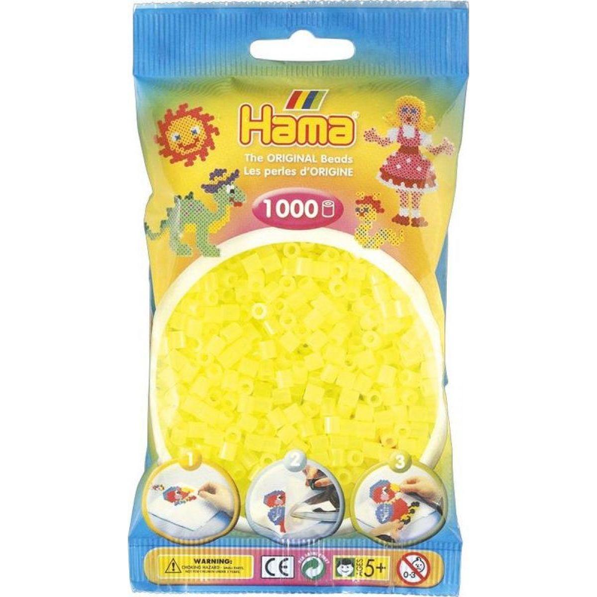 Hama H207-34 Midi Neónové žlté 1000 ks
