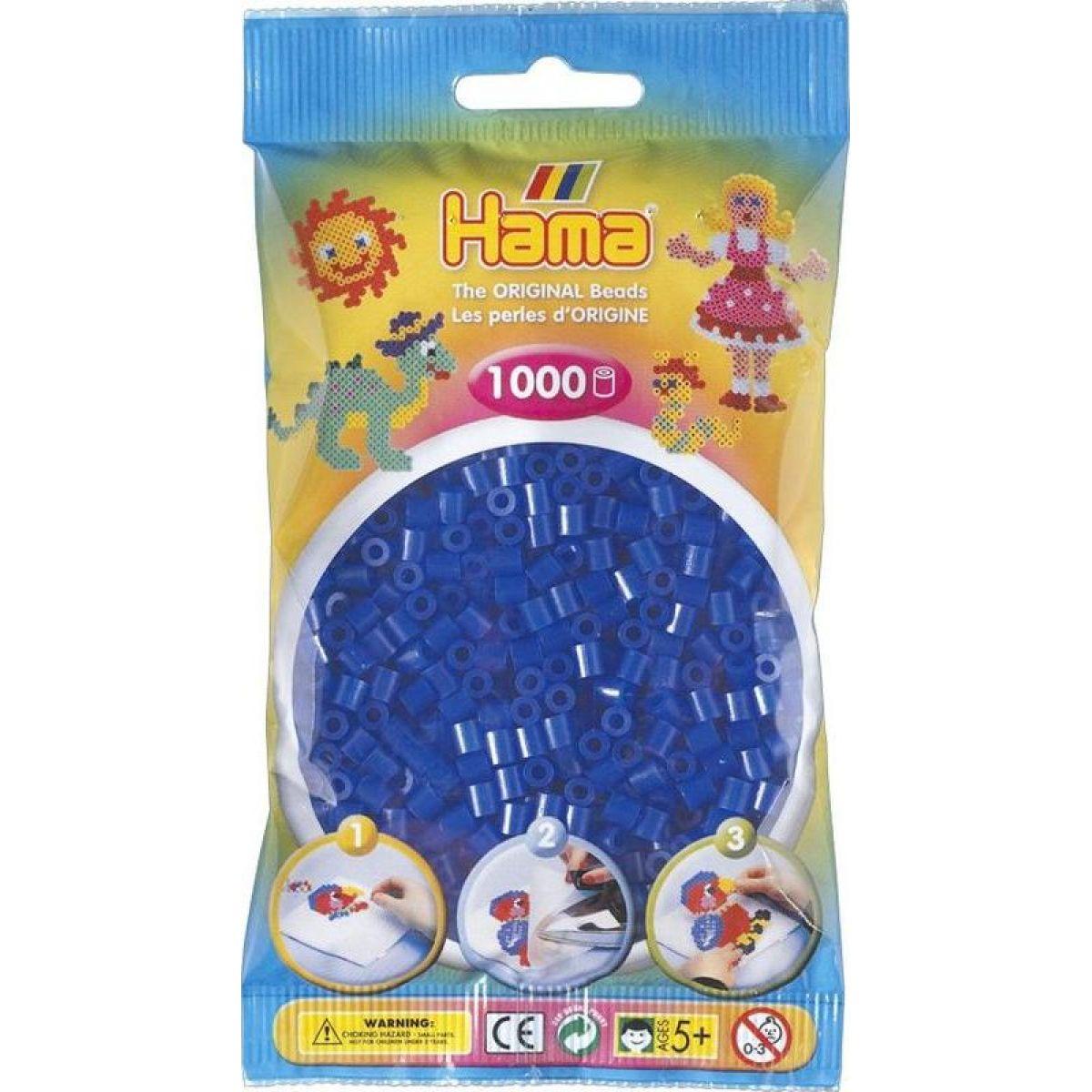 Hama H207-36 Midi Neónové modré korálky 1000 ks