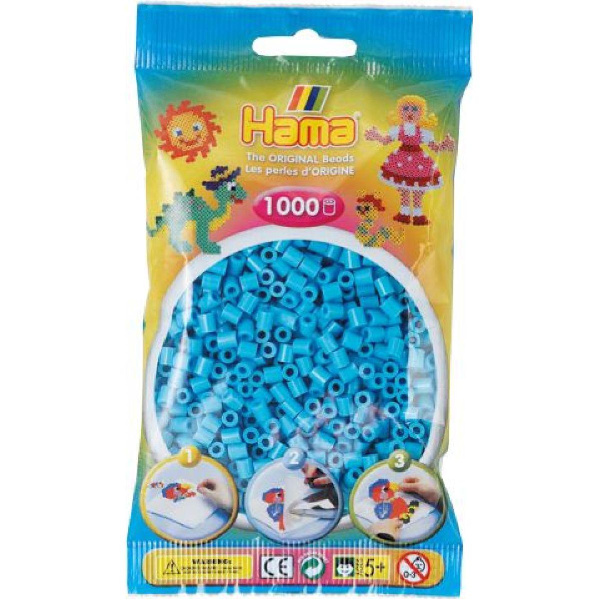 Hama H207-49 Midi Azúrovo modré korálky
