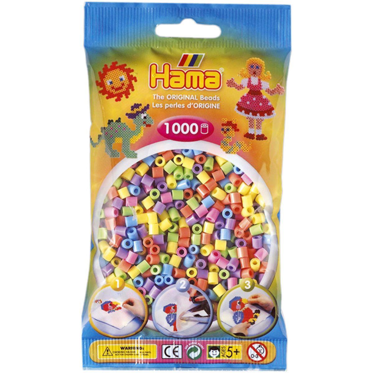 Hama H207-50 Zažehlovací korálky Midi mix 1000 ks