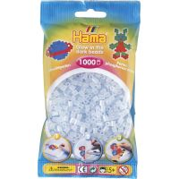 Hama H207-57 Midi Svietiace korálky modré 1000 ks