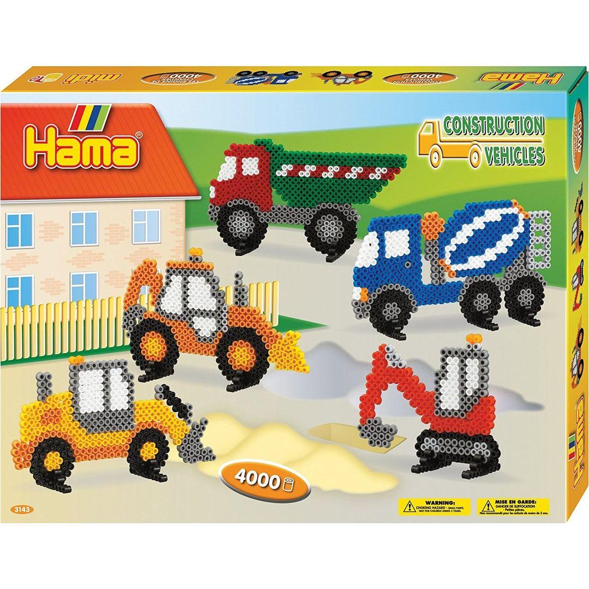 Hama H3143 Veľká darčeková sada Stavebné stroje Midi