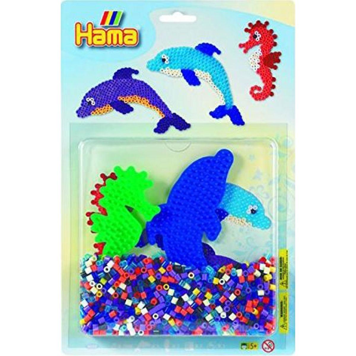 Hama H4058 Korálkový set Delfíny Midi