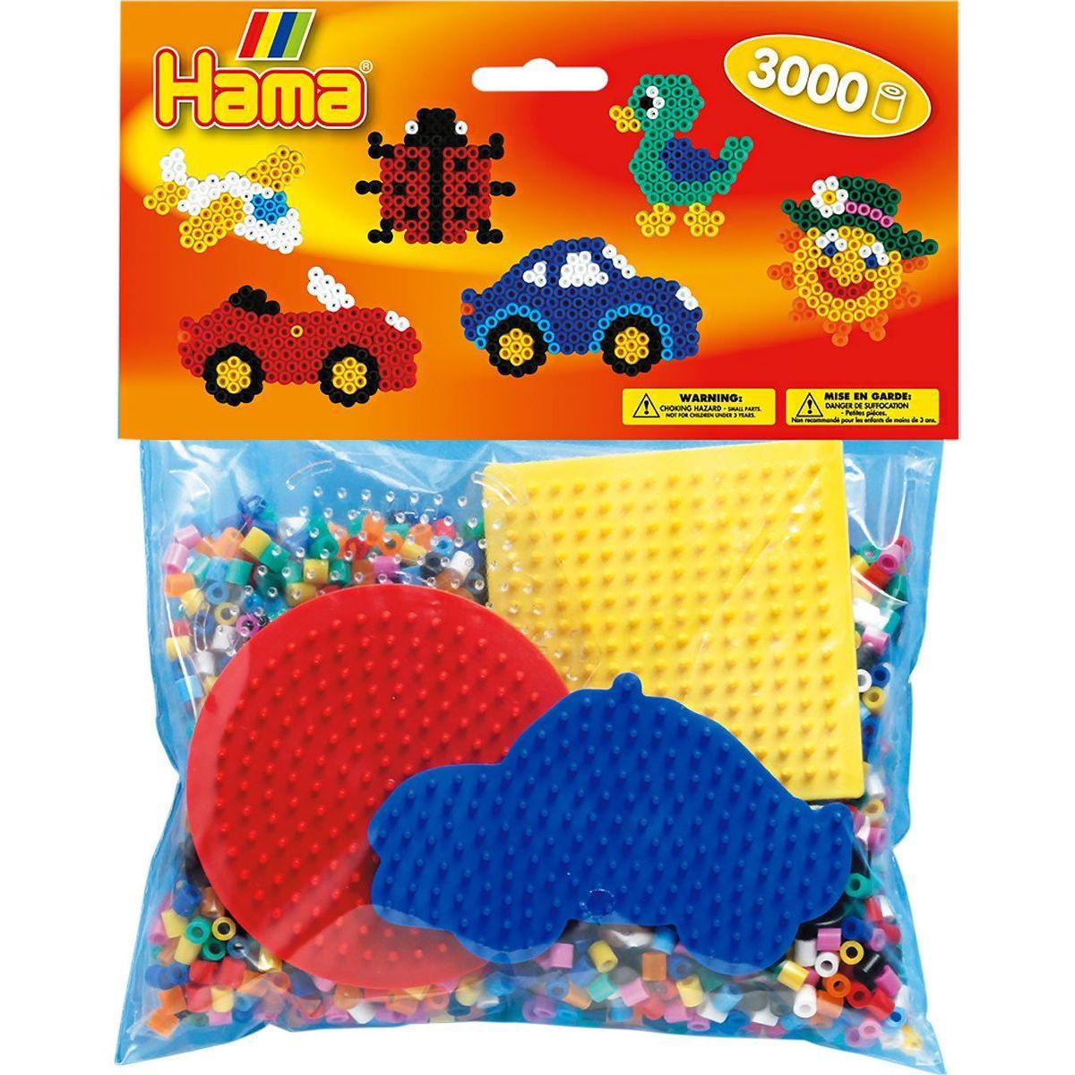 Hama H4413 Mix korálok a podložiek Midi