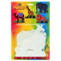 Hama H4554 Midi podložky Lev, žirafa, slon a velbloud