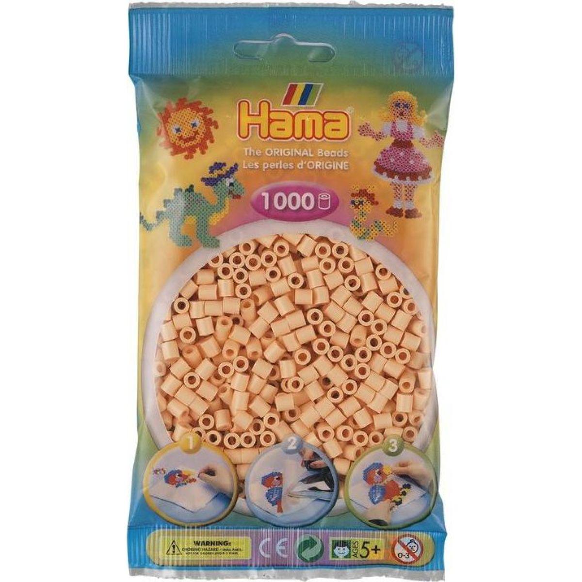 Hama Midi koráliky telová 1000 ks