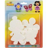 Hama Midi Podložky motýľ, kvetina a bábika