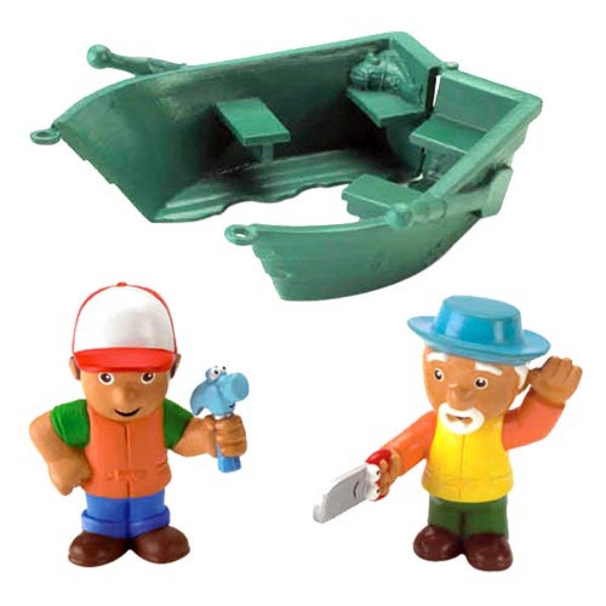 Fisher Price Handy Manny figurky Loďka