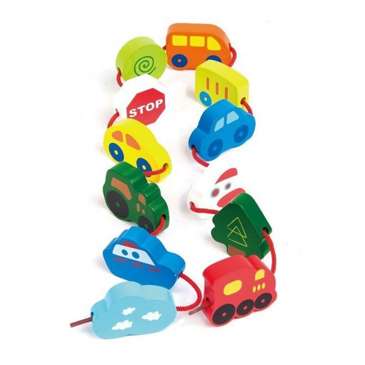 HAPE devěné hračky Cestování v tubě