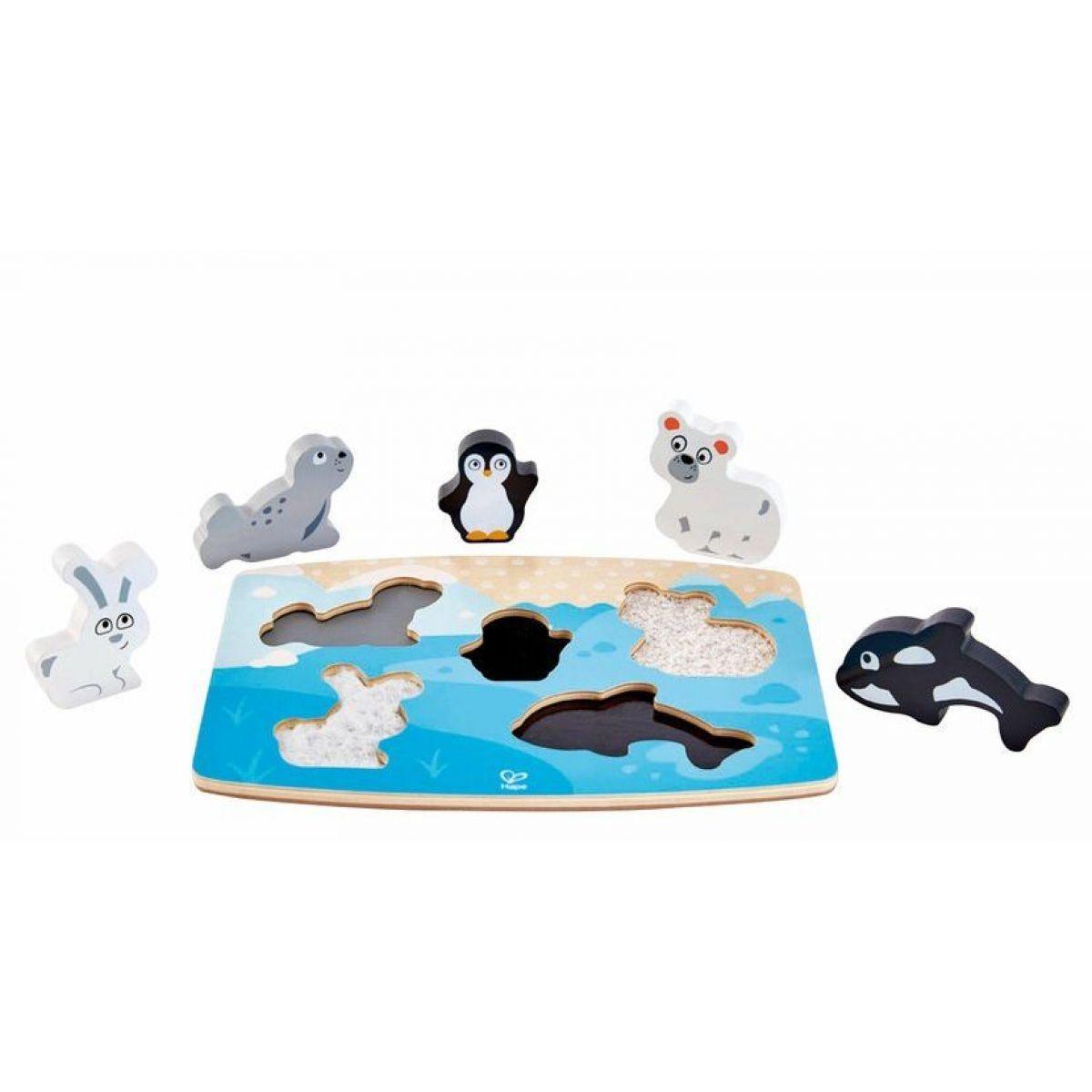Hape Puzzle na doske Polárna zvieratká