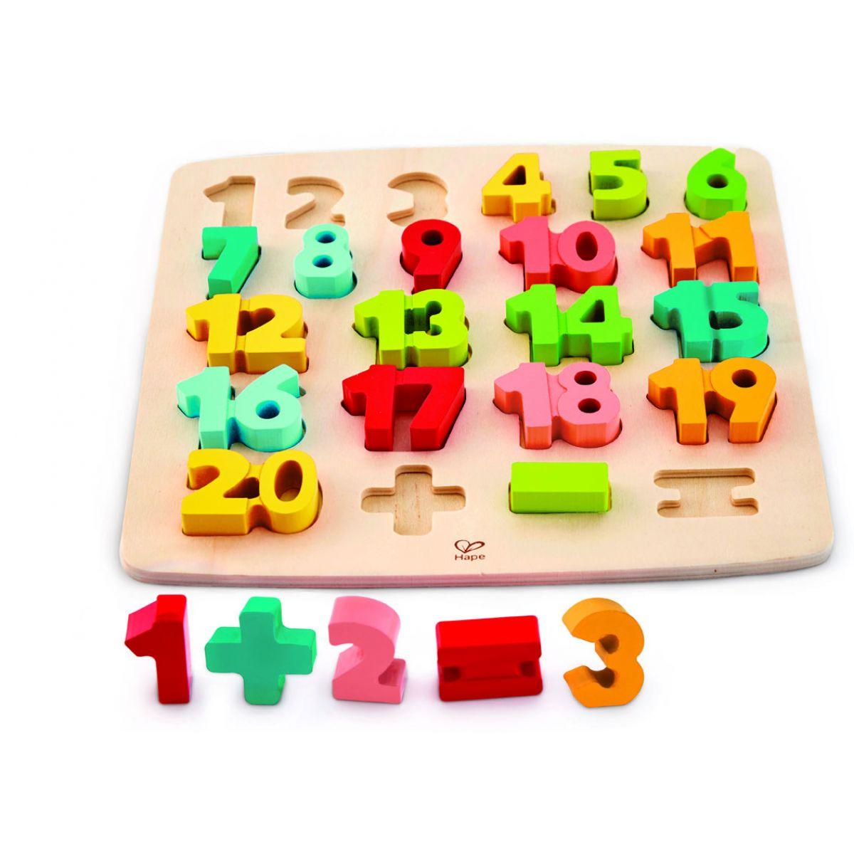 Hape Puzzle s číslicami