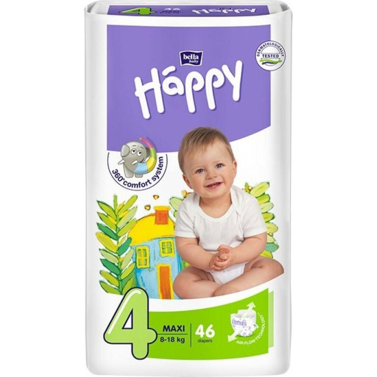 Happy plienky Maxi 46 ks