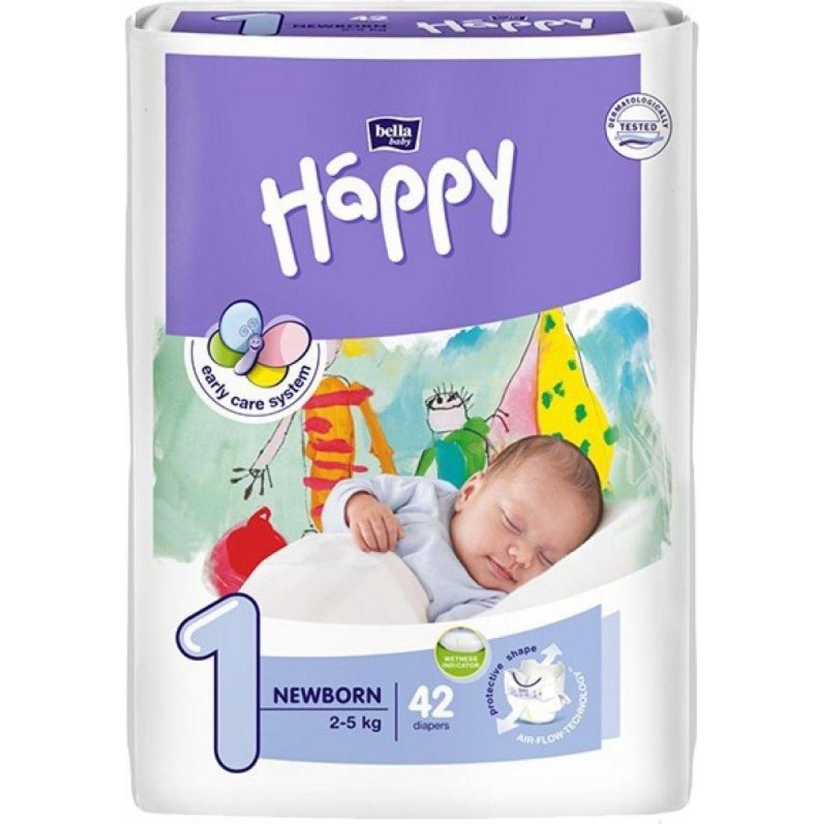 Happy plienky New Born 42ks