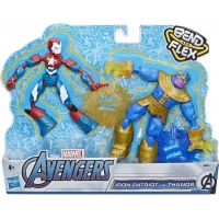 Hasbro Avengers Figúrka Bend and Flex duopack 3