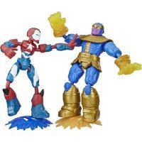 Hasbro Avengers Figúrka Bend and Flex duopack 2