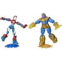 Hasbro Avengers figúrka Bend and Flex duopack