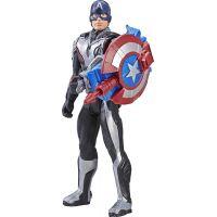Hasbro Avengers Titan Hero Power FX Kapitán Amerika 30 cm figúrka