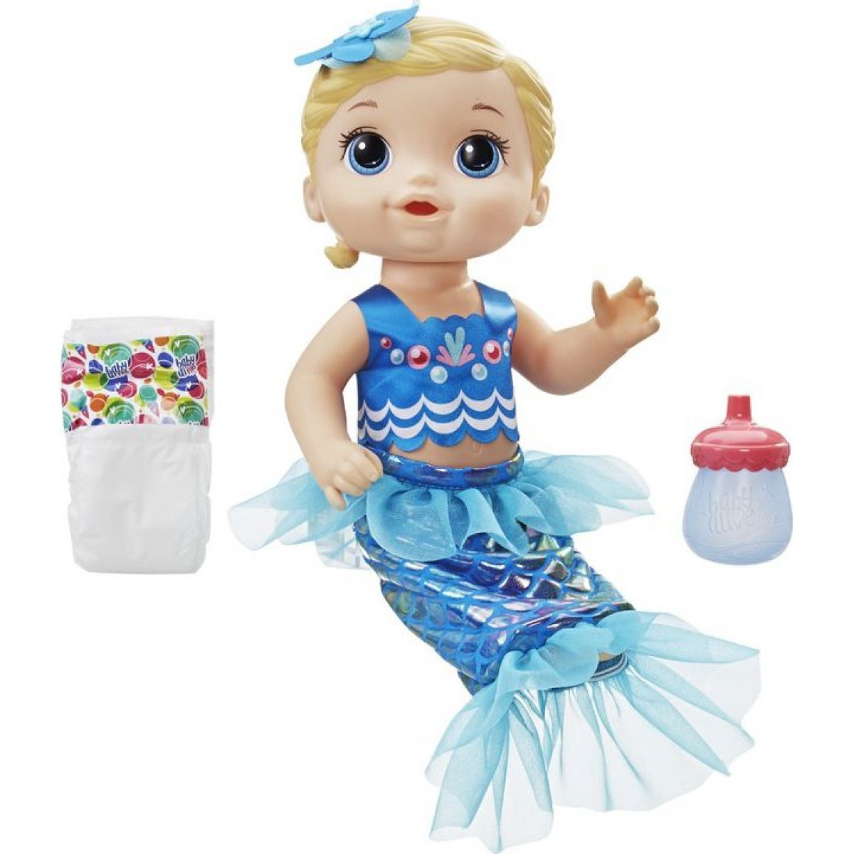 Hasbro Baby Alive Blonďatá morská panna