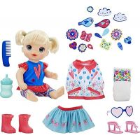 Hasbro Baby Alive Panenka s náhradním oblečením