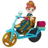 Hasbro Disney Frozen Little Kingdom Mini panenka s doplňky Anna & Bicycle 2