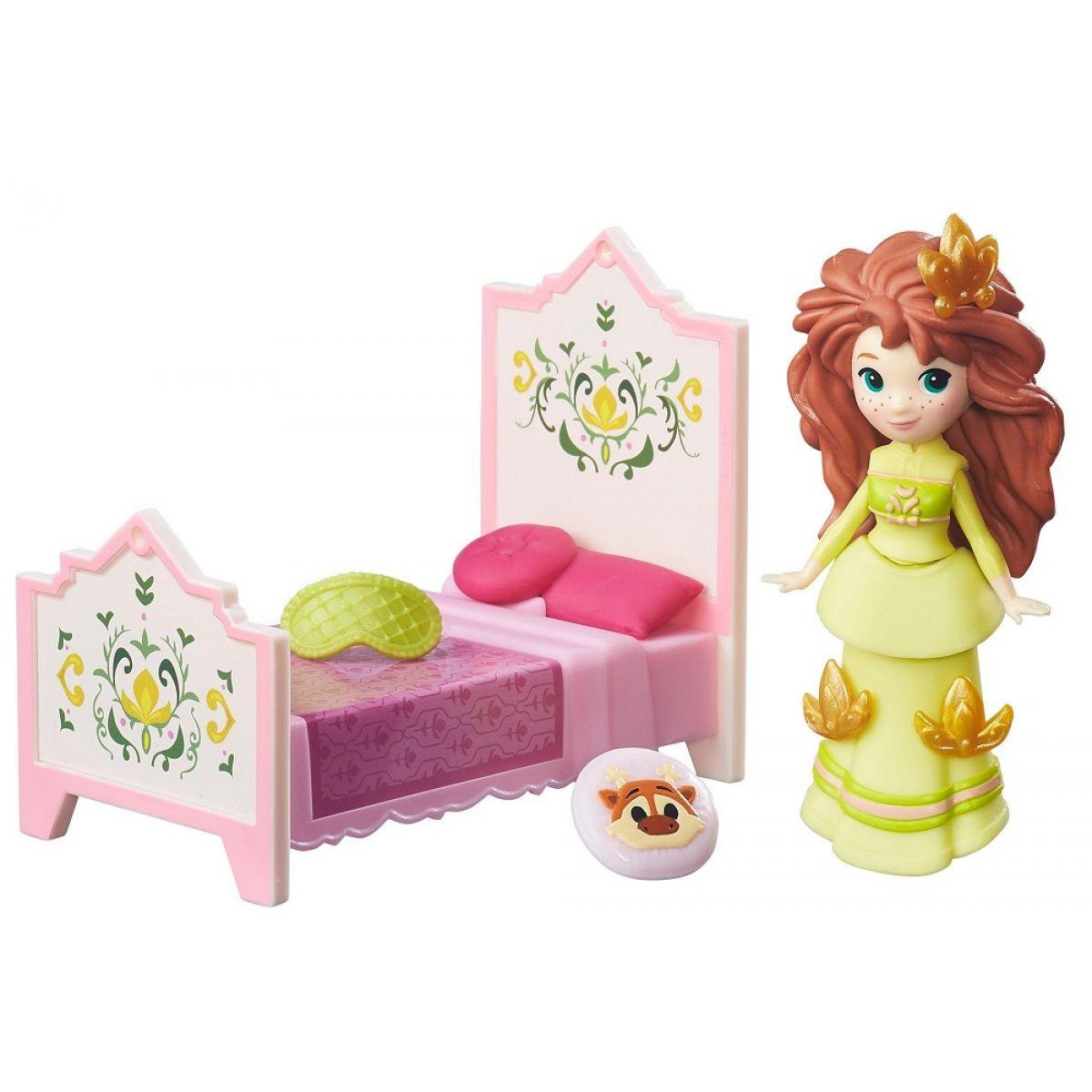 Hasbro Disney Frozen Little Kingdom Mini panenka s doplňky Rise & Shine Anna