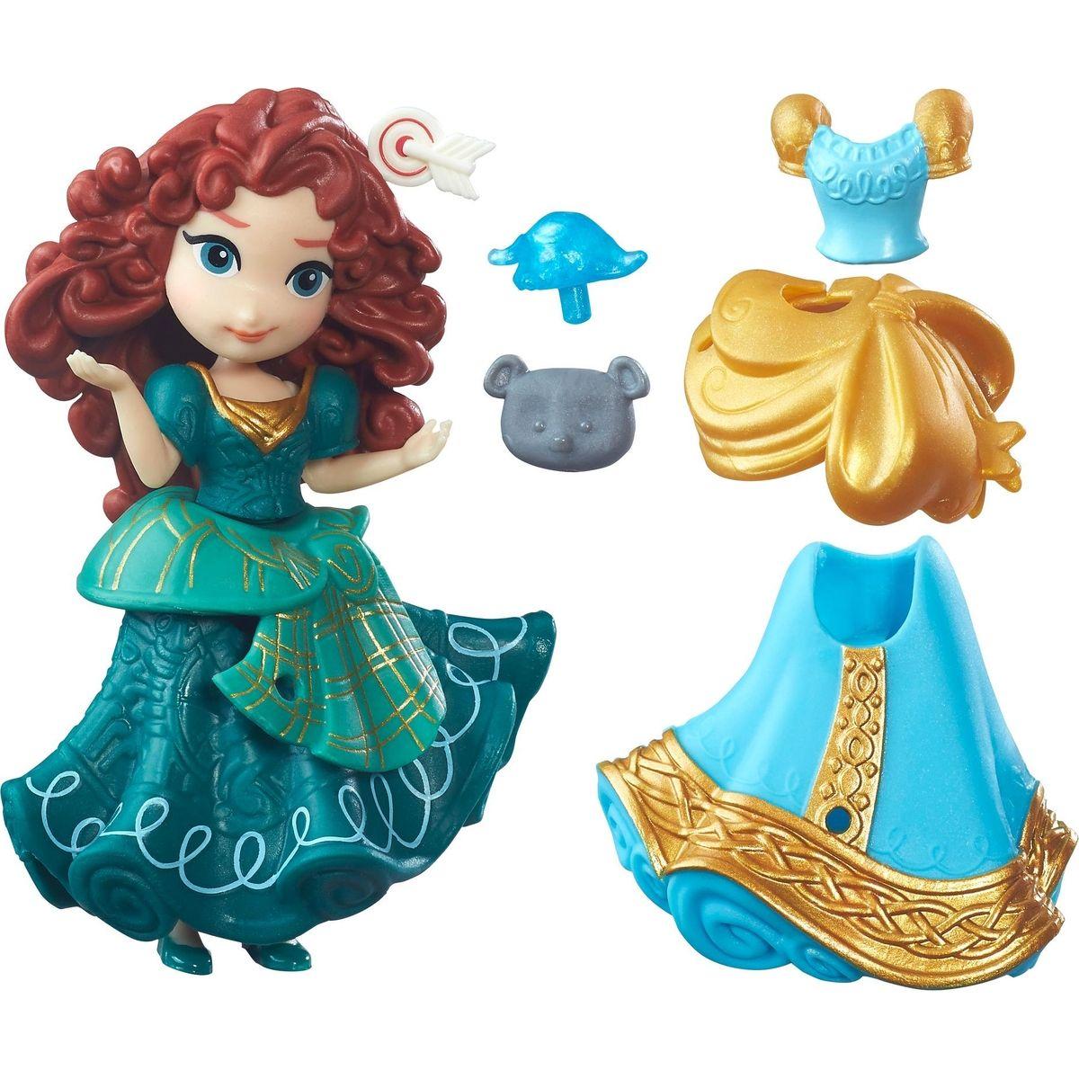 Hasbro Disney Princess Mini bábika s doplnkami Merida
