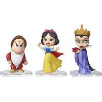 Hasbro Disney Princess Mini princezna trojbalení Sněhurka, Brumla a Zlá královna