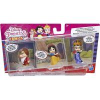 Hasbro Disney Princess Mini princezna trojbalení Sněhurka, Brumla a Zlá královna 2