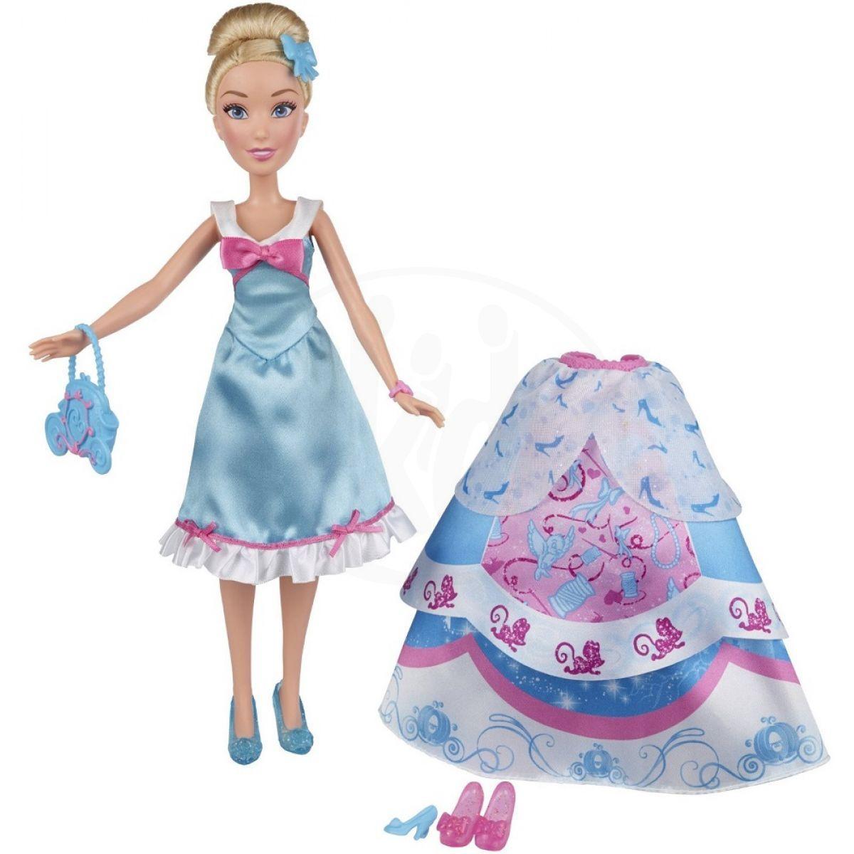 93f3ff2ae8b8 Hasbro Disney Princess Popelka s náhradními šaty 2 ...