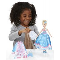Hasbro Disney Princess Popelka s náhradními šaty 6