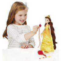 Hasbro Disney Princess panenka s vlasovými doplňky Bella 6
