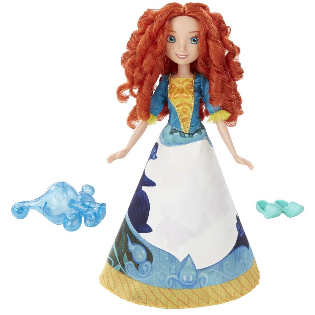Hasbro Disney Princess Panenka s vybarvovací sukní Merida