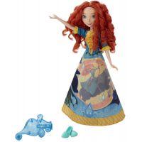 Hasbro Disney Princess Panenka s vybarvovací sukní Merida 2