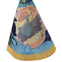 Hasbro Disney Princess Panenka s vybarvovací sukní Merida 4