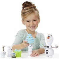 Hasbro Frozen Ľadové kráľovstvo Olaf s párty doplnkami 3
