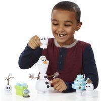 Hasbro Frozen Ľadové kráľovstvo Olaf s párty doplnkami 5