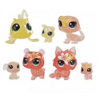 Hasbro Littlest Pet Shop Květinová zvířátka 7ks žlutá lilie