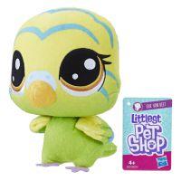 Hasbro Littlest Pet Shop Plyšák s pohyblivou hlavou Edie Von Keet